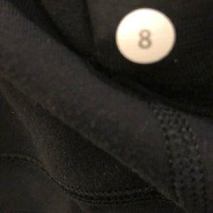 lululemon athletica Pants - Lululemon black crop perforated legging, sz 8